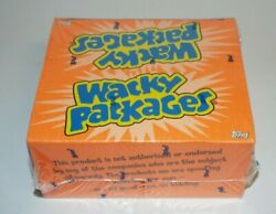 Topps Wacky Packages Stickers All New Series 3 Box Cards 24 Packs Sealed 2006