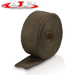 10m Header Exhaust Manifold Downpipe Titanium Thermal Temp Heat Wrap Protection