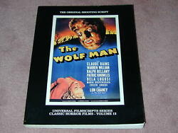 The Wolfman Universal Filmscript Series Vol.12 Paperback By Phil Riley