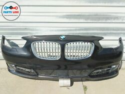 10-13 Bmw 550i Gt F07 Front Bumper Cover Grille Fog Light Trim Gray A90 Assembly