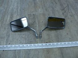 1982 Suzuki Gs450t Gs450 S576-1 Oem Left Right Front Rear View Mirrors Set
