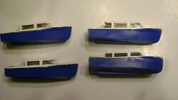 Lionel 6416 White Over Blue Athearn Boat-reproduction- Set Of 4- Boat Loader