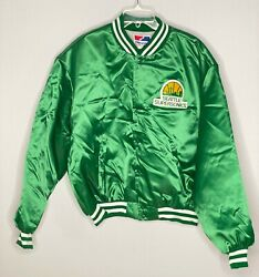 Vintage New With Tags Swingster Seattle Supersonics Size Xxl Jacket Made In Usa