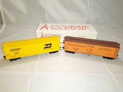 Accurail Burlington Northern And New York Dispatch Boxcar Ho Scale