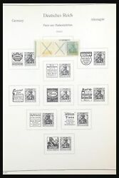 Lot 31566 Stamp Collection Germany Combinations 1909-1960.