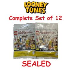 Lego Looney Tunes Collectible Minifigures 71030 Complete Set Of 12 🔥 Sealed 🔥