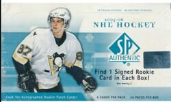 2005-06 Upper Deck Sp Authentic Unopened Box Rare Crosby Ovechkin