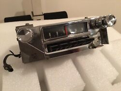 1964 Ford Mustang Am Radio With Knobs Fomoco Original And Working Oem Vintage