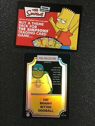 Simpsons Trading Card Game Tcg Promo Pack The Collector 18a/156 2003 New Sealed