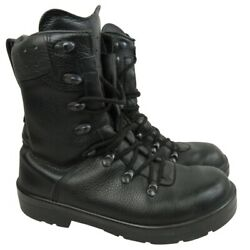 German Army Black Para Boots Mens Military Issued Surplus