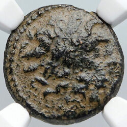 Antioch In Seleukis And Pieria Zeus Tripod Ancient Greek Coin Rare Ngc I90592