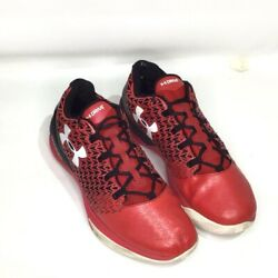 Under Armour Mens Clutchfit Drive 3 Basketball Shoes Red 1274422 600 Lace Up 15M $29.99