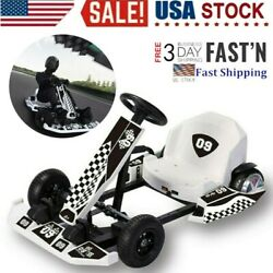 Electric Go Kart Complete Go-karts And Frames 8 Wheel Outdoor Racing Scooter Usa
