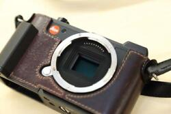 [mint] Leica Cl Black Body 24.2mp With Lim's Thumb Grip And Grip Half Case 0420