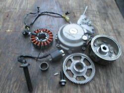 2017 Honda Crf2350l Crf250 Stator Flywheelw/ Cover And Ignition Coil