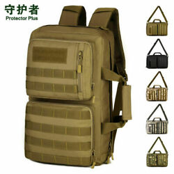 Outdoor Sports Bag 35L Camo Tactical Military Trekking Hiking Cycling Backpack $42.70