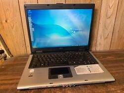 Acer Aspire 5610 15 Windows Xp Pro Sp3 Laptop Intel 1.66ghz 512mb 40gb Wifi Dvd
