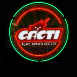 Cactus Jack Cacti Seal Neon Sign | New In Box | Ready To Ship