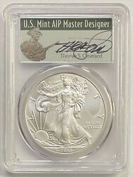 2013 1 Silver Eagle Pcgs Ms70 First Strike Thomas S. Cleveland Minuteman Pop 5