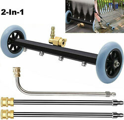 Pressure Power Washer Undercarriage Under Car Cleaner 4000 Psi Water Broom