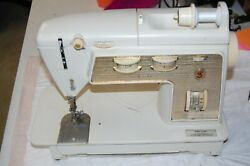 Xc Singer Golden Touch And Sew Deluxe Zig Zag Sewing Machine Original Parts Free