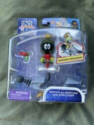 Space Jam A New Legacy Marvin The Martian With Spaceship 5 Inch Action Figure ✅✅