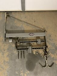 Wall Mount Swinging Butcher Scale 600lb Chatillon Type 205 W/ Meat Hook