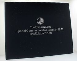 1972 Franklin Mint Special Commemorative Silver Medals First Edition - Full 36