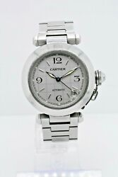 Pasha 2324 Stainless Steel Case Grey Dial 35 Mm