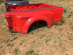 2017 2018 2019 2020 Ford F-350 Red Dually Truck Bed
