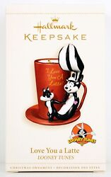 Pepe Le Pew Love You A Latte New 2014 Hallmark Looney Tunes Ornament And Penelope