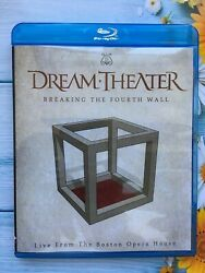 Dream Theater Breaking The Fourth Wall Live From The Boston Opera Blu Ray New