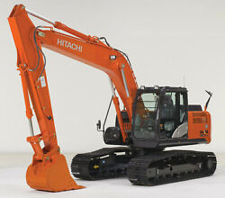 Hitachi Zx 180 Lc-5 Decals Adhesive Complete Kit
