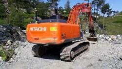 Hitachi Zx 190 Lc-5 Decals Adhesive Complete Kit