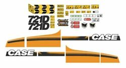 Case 721 D Decals Adhesive Complete Kit