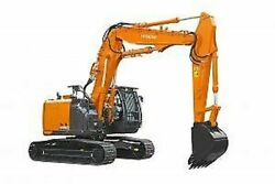 Hitachi Zx210k-5g Decals Adhesive Kit Complete