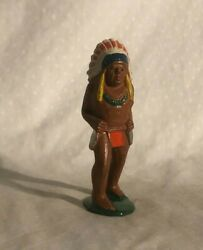 Barclay Manoil Dime Store Toy Native American Indian Figure