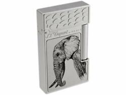 S.t. Dupont Ligne 2 Big 5 Collection Elephant Lighter 16490 016490 New In Box