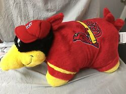 "My Pillow Pets Large 19"" FREDBIRD St. Louis Cardinals MLB Missouri Baseball"