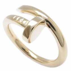 Mint Auth 18k Yellow Gold Juste Un Clou Ring Size 53 B4092600 /095066