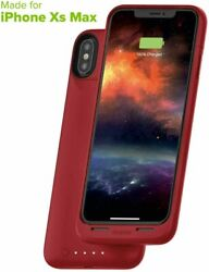100 Qty Mophie Juice Pack Mfi Certified Battery Case For Iphone Xs Max Red