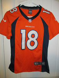 Peyton Manning - Denver Broncos Authentic Jersey - Nike Youth Small