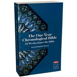 The One Year Chronological Bible By Tyndale House new nkjv Version