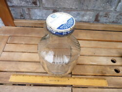 Vintage Speas And Co. Half Gallon Vinegar Bottle With Ann Page Lid
