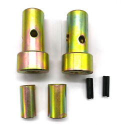 Fits Cat 1 Quick Hitch Adapter Bushings Category I 3-pt Tractor, Bushing Set