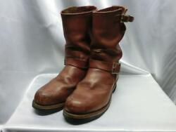 Redwing Red Wing 8271 Engineer Size7 1/2d Astm Notation Mens Boots Secondhand