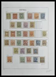 Lot 33474 Stamp Collection Eritrea 1893-1934.