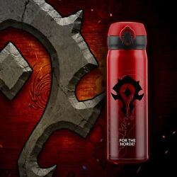 World Of Warcraft X Thermos Logo Horde 304 Stainless Steel Vacuum Mug Cup