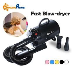 2800w Power Hair Dryer For Dogs Pet Dog Cat Grooming Blower Warm Wind Secador Fa