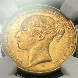 1884 Australia 1 Sovereign Gold Coin Victoria / St. George Ngc Ms62